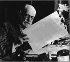 Sigmund Freud, whose personality inspired part of Jung's typology.